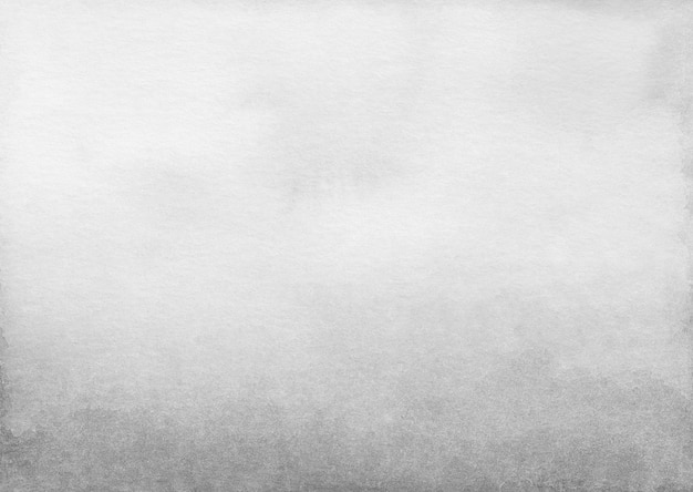 Trama di sfondo sfumato grigio chiaro dell'acquerello Foto Premium