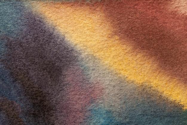 Pittura ad acquerello su tela Foto Premium
