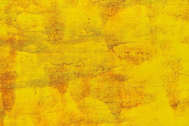 Priorità bassa dell'acquerello nella vecchia vernice gialla vintage Foto Premium