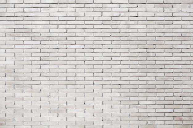 Sfondo bianco muro di mattoni Foto Premium