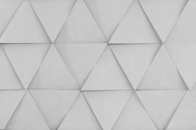 Sfondo geometrico di forme di diamante bianco Foto Premium