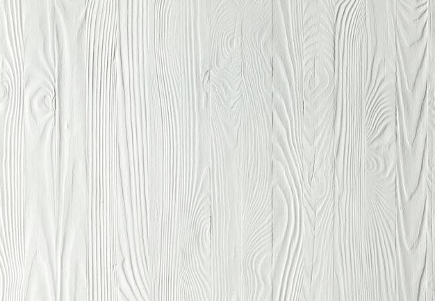 Muro di legno bianco Foto Premium