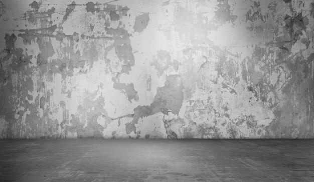 Ampia struttura del fondo della decorazione del muro di cemento del grunge. Foto Premium