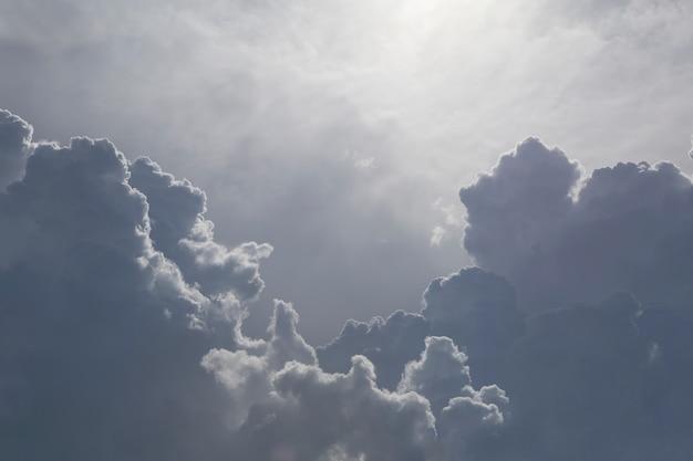 Meraviglioso cloud in the sky. Foto Premium