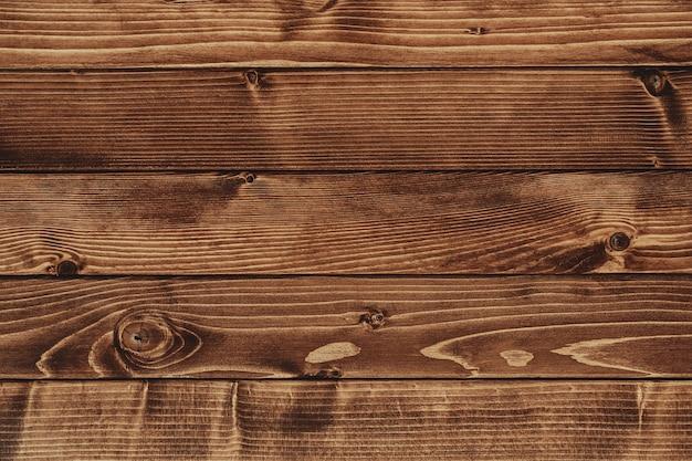 Sfondo di terrazza in legno marrone dalla vista dall'alto. foto di alta qualità Foto Premium