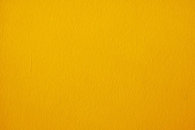 Struttura della parete gialla Foto Premium
