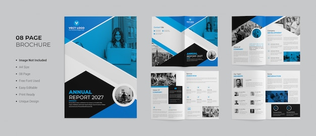 Modello brochure - rapporto annuale Psd Premium
