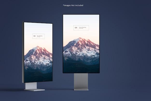 Bellissimi modelli di display a larghezza sottile Psd Premium