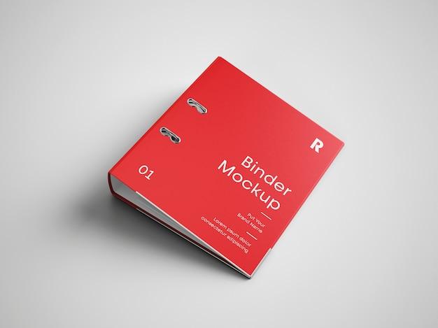 Mockup di copertina del raccoglitore Psd Premium