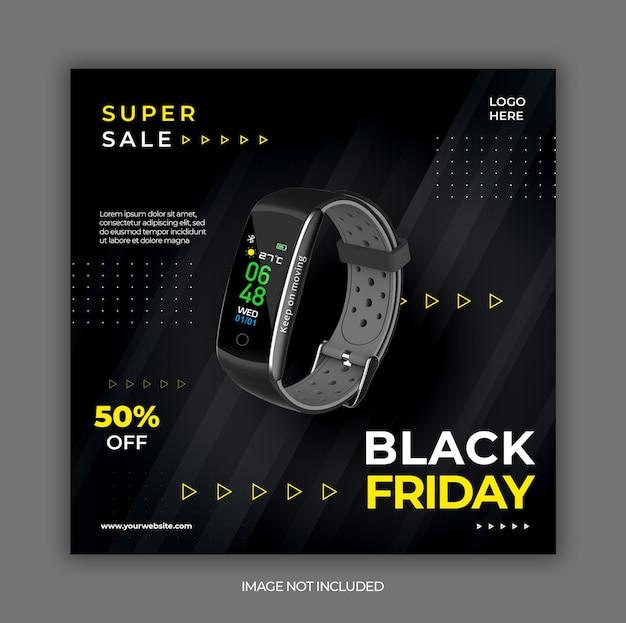 Storia o modello di instagram del venerdì nero Psd Premium