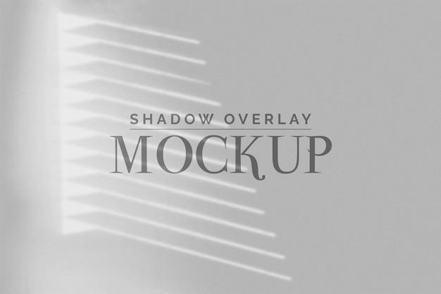 Blind ombra sovrapposizione mockup Psd Premium