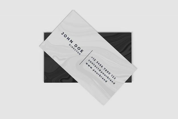 Mockup di prodotti per biglietti da visita Psd Premium