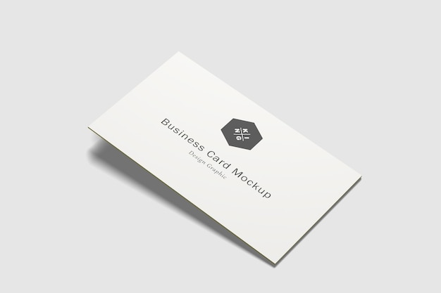 Biglietti da visita mockup isolati Psd Premium