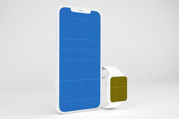 Clay smart phone e smart watch Psd Premium
