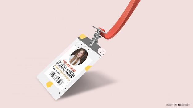 Carta d'identità aziendale Psd Premium