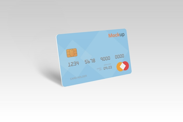 Carta di debito, carta di credito, smart card mock-up Psd Premium