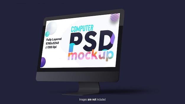 Monitor per computer desktop Psd Premium