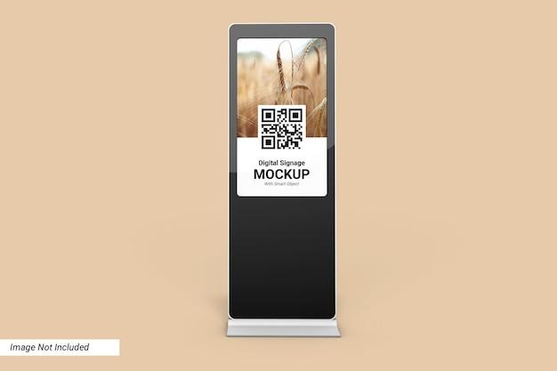 Digital signage mockup design isolato Psd Premium