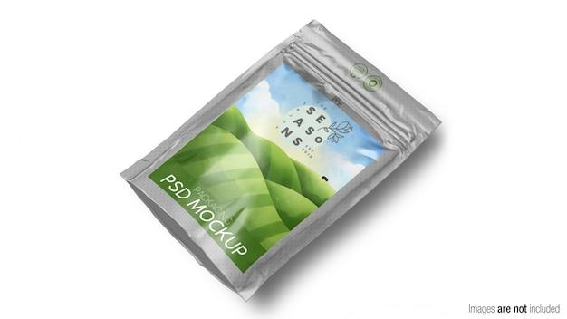 Mockup di imballaggio del prodotto doypack Psd Premium
