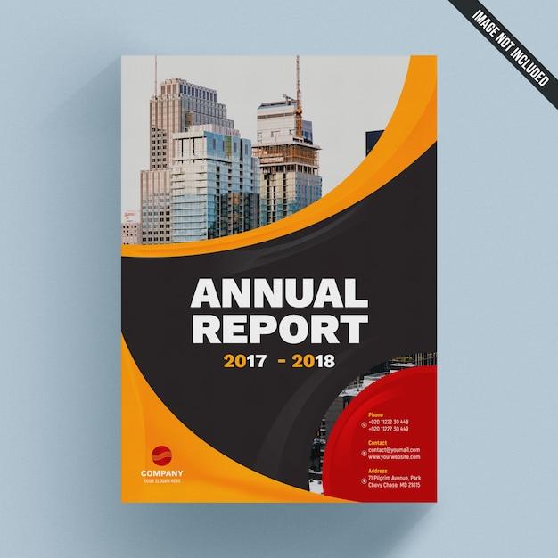 Elegante modello di brochure aziendale Psd Premium