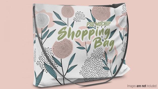 Borsa shopping in tessuto mockup Psd Premium