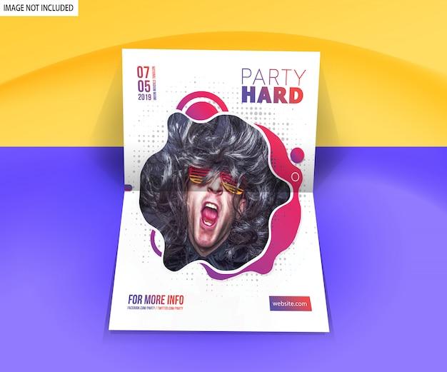 Flyer poster mockup Psd Premium