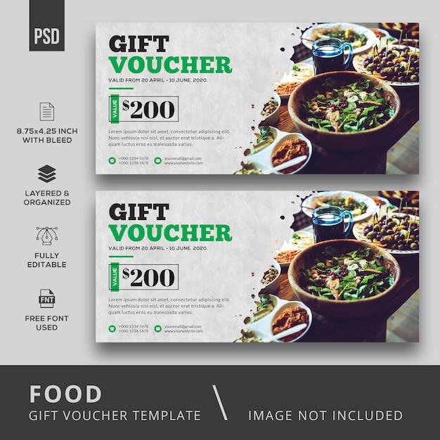 Buono regalo alimentare Psd Premium