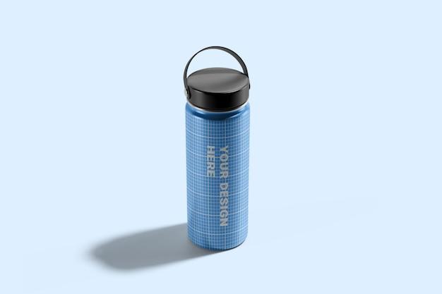 Hydro flask water bottle mockup Psd Premium