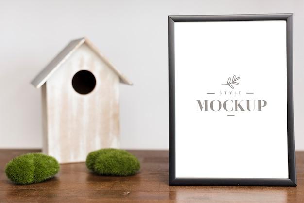 Mock-up del concetto di interior design Psd Premium