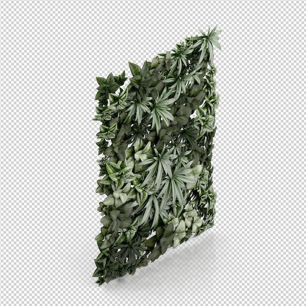 Rappresentazione isometrica della pianta 3d Psd Premium