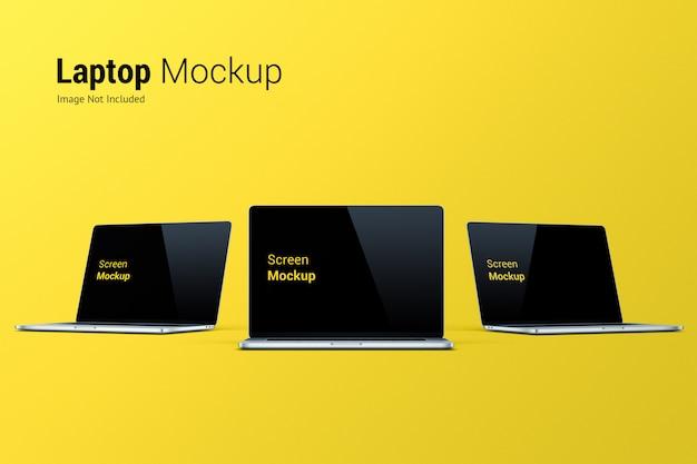 Mockup per laptop Psd Premium