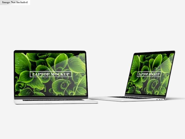 Laptop mockup Psd Premium