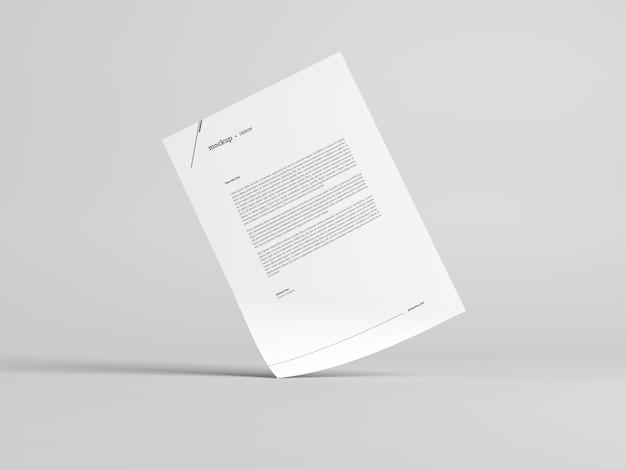 Mockup di carta intestata Psd Premium