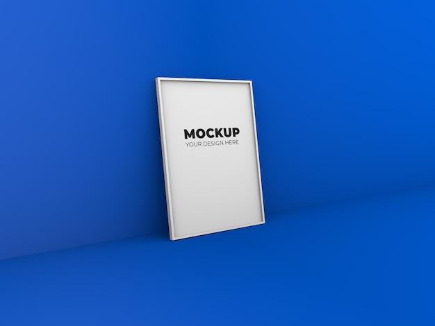 Design di cornici per foto mockup Psd Premium