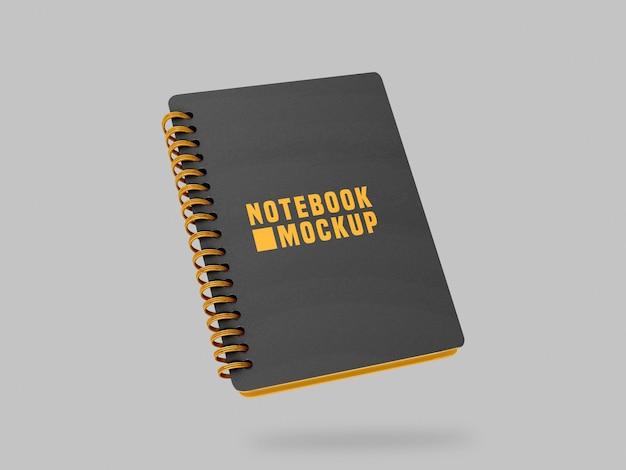 Mockup di notebook Psd Premium