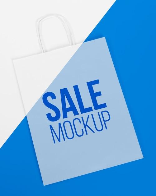 Concetto di sacchetto di carta con mock-up Psd Premium
