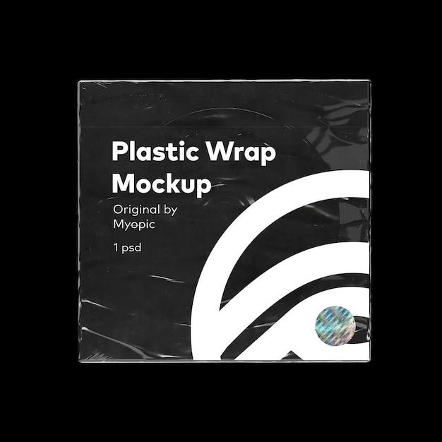 Mockup di custodia per cd in plastica Psd Premium