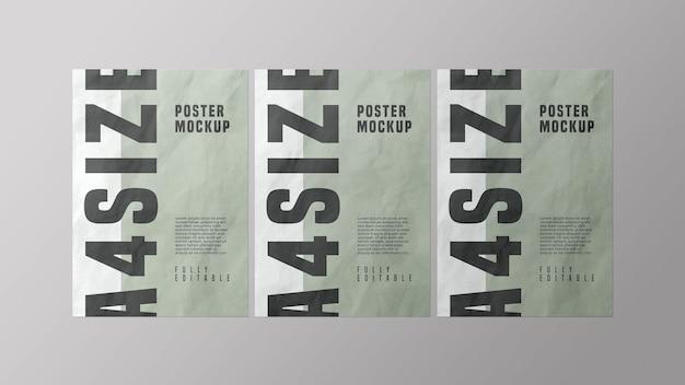Poster mockup design psd Psd Premium