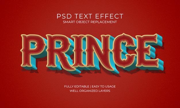 Effetto testo principale Psd Premium