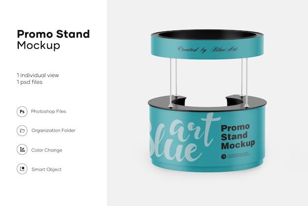 Promo stand mockup isolato Psd Premium