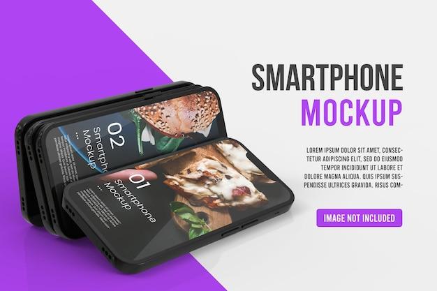 Mockup di smartphone realistico Psd Premium