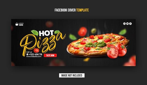 Banner di copertina di facebook del ristorante Psd Premium