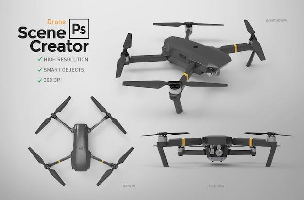 Set di droni. Psd Premium