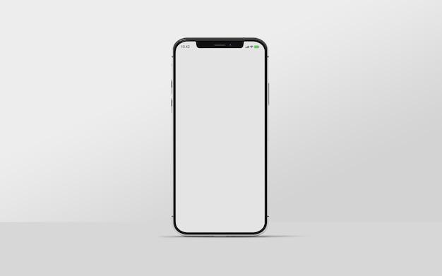 Modello di smartphone isolato Psd Premium