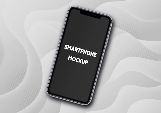 Mockup di smartphone isolato Psd Premium