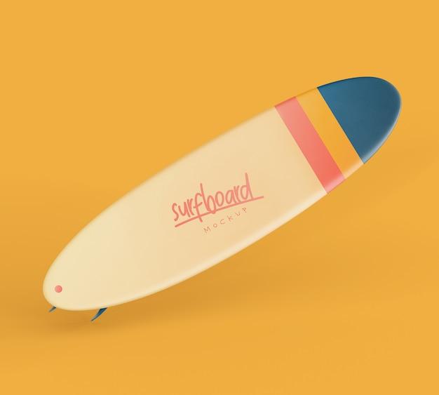 Tavola da surf mockup Psd Premium