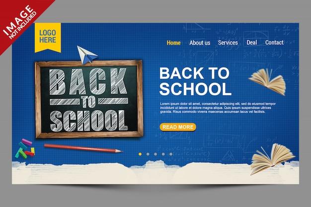 Modello per back to school social media post Psd Premium