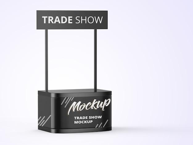 Mockup di stand di affari commerciali Psd Premium