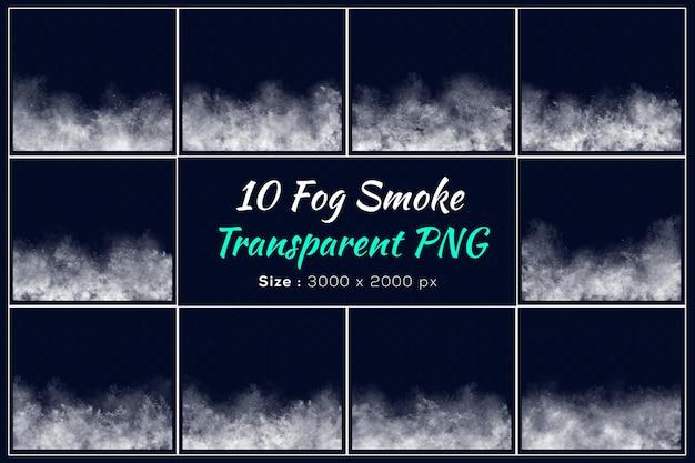 Varie forme di raccolta fumo nebbia Psd Premium