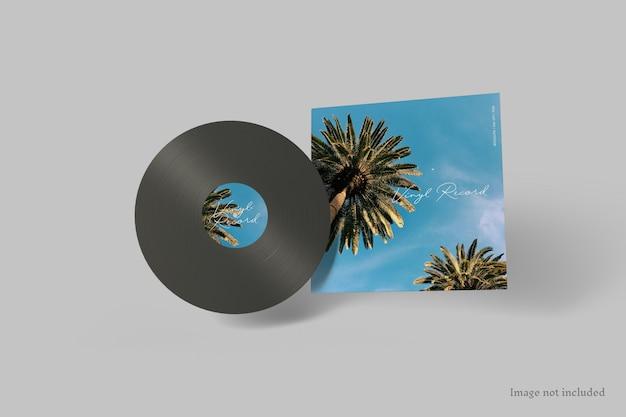 Copertina del disco in vinile mockup Psd Premium
